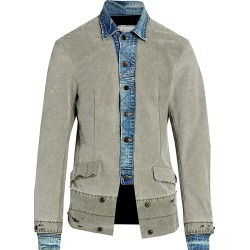 Greg Lauren Men's Tent Trucker Jacket - Army - Size XXL found on MODAPINS from Saks Fifth Avenue for USD $2250.00
