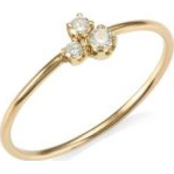 14K Yellow Gold Trio Diamond Ring found on Bargain Bro India from Saks Fifth Avenue Canada for $432.58
