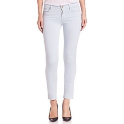 Mid Rose Cropped Rail Jeans title=