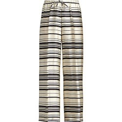 Dries Van Noten Women's Striped Stretch-Silk Wide-Leg Pants - Size 42 (10-12) found on Bargain Bro Philippines from Saks Fifth Avenue for $705.00