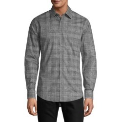 Slim-Fit Printed High-Low Shirt found on GamingScroll.com from The Bay for $91.60