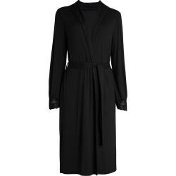 La Perla Women's Tres Souple Lace-Trim Robe - Black - Size Medium found on MODAPINS from Saks Fifth Avenue for USD $180.00