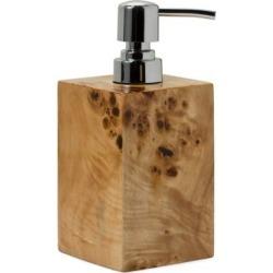 Burl Veneer Soap Dispenser found on Bargain Bro UK from Saks Fifth Avenue UK