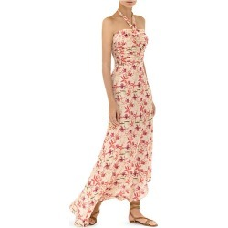 Alexis Women's Tahanie Floral Halter Maxi Dress - Wild Orchid Rose - Size XS found on MODAPINS from Saks Fifth Avenue for USD $562.50
