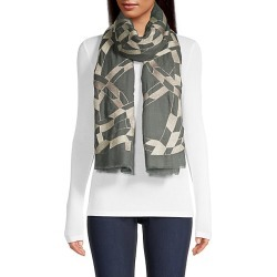 Janavi Women's Abstract Metallic Print Cashmere Scarf - Charcoal found on MODAPINS from Saks Fifth Avenue for USD $712.50