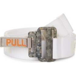 Concrete Jungle Reflective Tape Belt found on Bargain Bro Philippines from Saks Fifth Avenue AU for $156.47