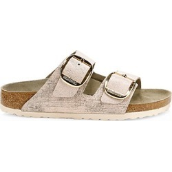 Birkenstock Women's Arizona Big Buckle Metallic Leather Sandals - Pink - Size 36 (5) found on MODAPINS from Saks Fifth Avenue for USD $160.00