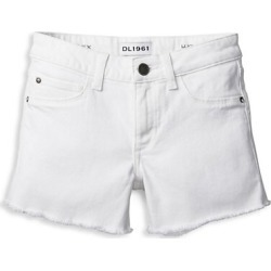 Little Girl's & Girl's Lucy Solid Cut-Off Shorts
