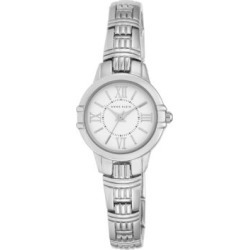 Analog AK-2281SVSV Silvertone Stainless Steel Watch found on MODAPINS from The Bay for USD $64.00