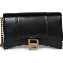 Hourglass Leather Wallet-On-Chain found on Bargain Bro India from Saks Fifth Avenue Canada for $1154.53