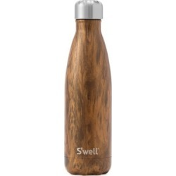 Teakwood Stainless Steel Reusable Water Bottle found on Bargain Bro Philippines from Saks Fifth Avenue Canada for $45.45