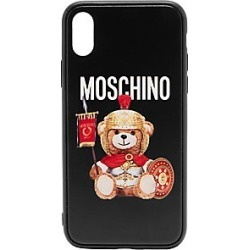 Moschino iPhone XS Gladiator Bear Phone Case - Black Mult - Size OS found on Bargain Bro Philippines from Saks Fifth Avenue for $85.00