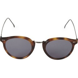 Illesteva Women's 48MM Portofino Round Sunglasses - Havana found on MODAPINS from Saks Fifth Avenue for USD $230.00