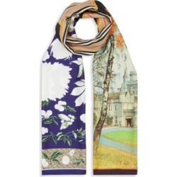 Montage Print Silk Scarf found on Bargain Bro Philippines from Saks Fifth Avenue Canada for $540.82