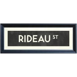 Ottawa Street Sign of RIDEAU St. Giclee Print found on Bargain Bro from The Bay for USD $45.22
