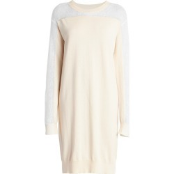 Maison Margiela Women's Spliced Knit Dress - Off White - Size Large found on MODAPINS from Saks Fifth Avenue for USD $655.00