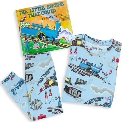 Books To Bed Little Boy's & Boy's Little Engine 3-Piece Pajama & Book Set - Blue - Size 2 found on Bargain Bro from Saks Fifth Avenue for USD $38.00