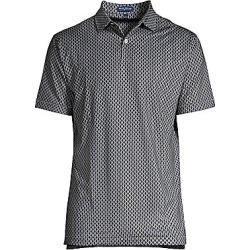 Peter Millar Men's Carter Timepiece UPF 50+ Print Shirt - Gale Grey - Size XL found on Bargain Bro Philippines from Saks Fifth Avenue for $94.00