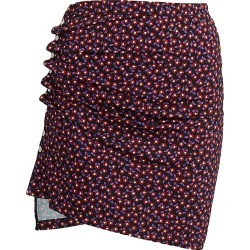 Paco Rabanne Women's Floral Printed Jersey Mini Skirt - Black Pop Clover - Size 4 found on MODAPINS from Saks Fifth Avenue for USD $470.00