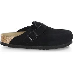 Birkenstock Women's Boston Suede Clogs - Black - Size 37 (6) found on MODAPINS from Saks Fifth Avenue for USD $145.00