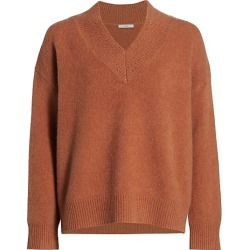 Co Women's Cashmere V-Neck Sweater - Copper - Size XS found on MODAPINS from Saks Fifth Avenue for USD $925.00