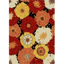 Garden Multicolor Indoor Outdoor Area Rug title=