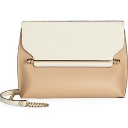 Strathberry Women's East/West Stylist Bi-Color Leather Crossbody Bag - Tan found on Bargain Bro Philippines from Saks Fifth Avenue for $445.00