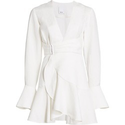 Acler Women's Corsica Wrap Dress - Ivory - Size 8 found on MODAPINS from Saks Fifth Avenue for USD $231.00