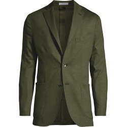 Boglioli Men's Virgin Wool Knit Jersey Sportcoat - Olive - Size 42 found on MODAPINS from Saks Fifth Avenue for USD $1245.00