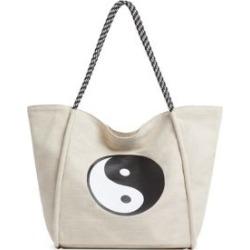 Fourre-tout souple à imprimé Yin Yang