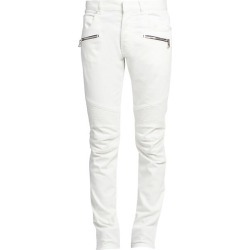Balmain Men's Slim-FIt Vein Strass Jeans - Blanc - Size 31 found on MODAPINS from Saks Fifth Avenue for USD $950.00