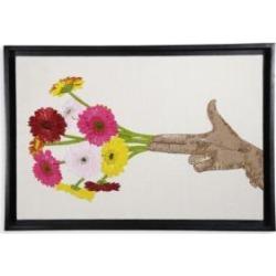 Flower Beaded Wall Art found on Bargain Bro UK from Saks Fifth Avenue UK