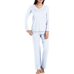 Champagne Long-Sleeve Pajamas found on MODAPINS from Saks Fifth Avenue for USD $198.00