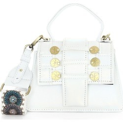 Kooreloo Women's Petite Trapezoid Faux Leather Satchel - White found on MODAPINS from Saks Fifth Avenue for USD $416.50