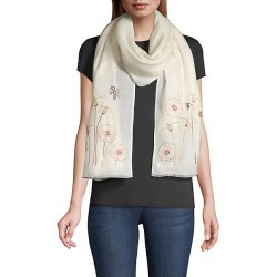 Janavi Women's Alice In Wonderland Cashmere Scarf - Ivory found on MODAPINS from Saks Fifth Avenue for USD $595.00