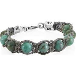 Sterling Silver & Green Quartz Beaded Bracelet found on Bargain Bro India from Saks Fifth Avenue Canada for $279.77