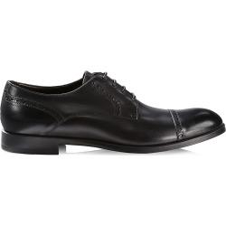Ermenegildo Zegna Men's Siena Flex Captoe Derby Shoes - Black - Size 11 found on MODAPINS from Saks Fifth Avenue for USD $650.00