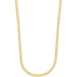 14K Gold Curb Chain Necklace/4.95MM found on Bargain Bro India from Saks Fifth Avenue OFF 5TH for $1710.00
