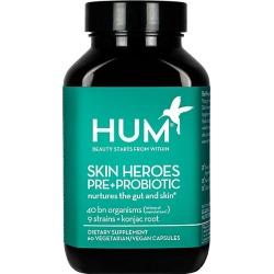 Hum Nutrition Women's Skin Heroes Pre + Probiotic Clear Skin Supplement