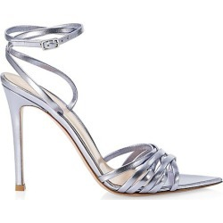 Gianvito Rossi Women's Metallic Leather Sandals - Stonewash - Size 40 (10) found on MODAPINS from Saks Fifth Avenue for USD $895.00