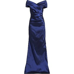 Teri Jon by Rickie Freeman Women's Taffeta Gown - Slate - Size 10 found on MODAPINS from Saks Fifth Avenue for USD $600.00