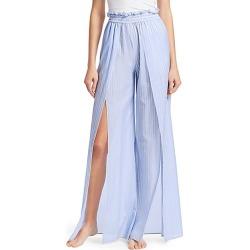 Jonathan Simkhai Women's Striped Fisherman Pajama Pants - Chambray Combo - Size Small found on MODAPINS from Saks Fifth Avenue for USD $197.49
