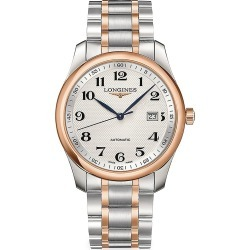 Longines Men's Master Collection Stainless Steel & Rose Gold 40MM Automatic Watch found on MODAPINS from Saks Fifth Avenue for USD $3450.00