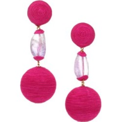 Gem Bonbon Amethyst Clip-On Drop Earrings found on Bargain Bro India from Saks Fifth Avenue AU for $333.64