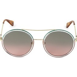 Gucci Women's 56MM Round Sunglasses - Gold found on Bargain Bro India from Saks Fifth Avenue for $450.00