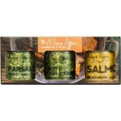 Ensemble d'épices Trésors de la mer, 3 produits