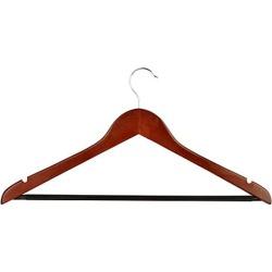Honey-Can-Do 24-Pack Non Slip Wooden Coat Hangers