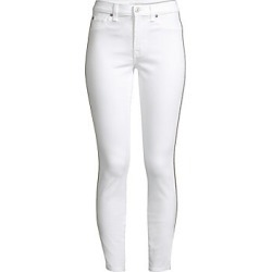 7 For All Mankind Women's Stretch Ankle Skinny Jeans - White Fashion - Size 32 (10-12) found on MODAPINS from Saks Fifth Avenue for USD $219.00