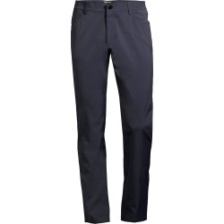 Theory Men's Tech Raffi Straight-Fit Stretch Pants - Navy - Size 40 found on Bargain Bro from Saks Fifth Avenue for USD $186.20