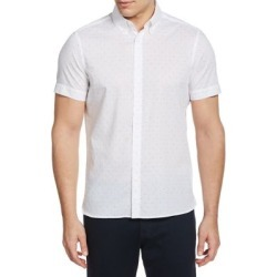 Dot-Print Short-Sleeve Shirt found on GamingScroll.com from The Bay for $19.96